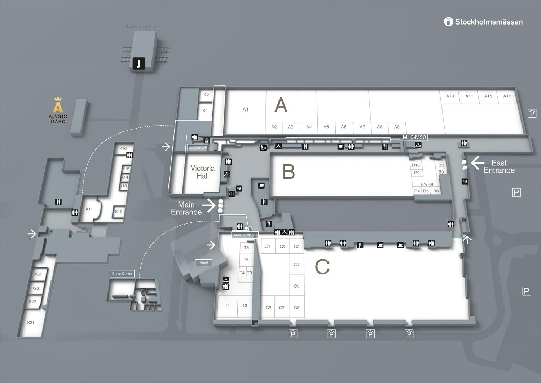Karta Over Arlanda Flygplats.Hur Du Hittar Till Stockholmsmassan