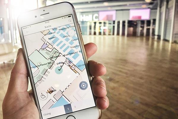 Karta Stockholmsmassan.Sa Nar Du Bast Besokarna Via Stockholmsmassans Nya App